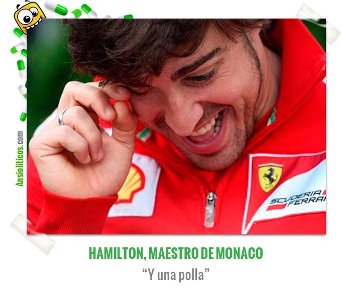 Chiste de Fórmula 1: Alonso, maestro de Mónaco
