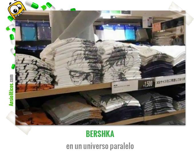 Chiste de ropa: Bershka ordenado