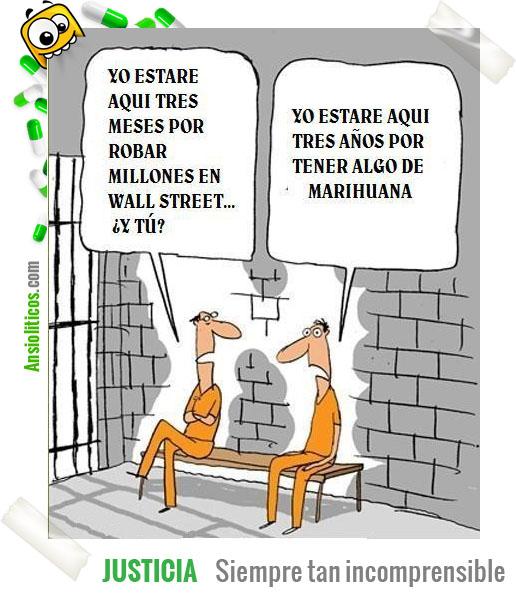 Chiste de la justicia: Ladrones de Wall Street