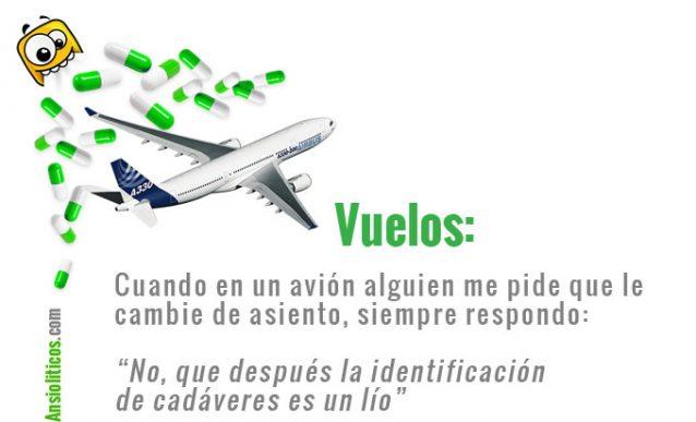 Chiste Aviones: Cambiar de Asiento