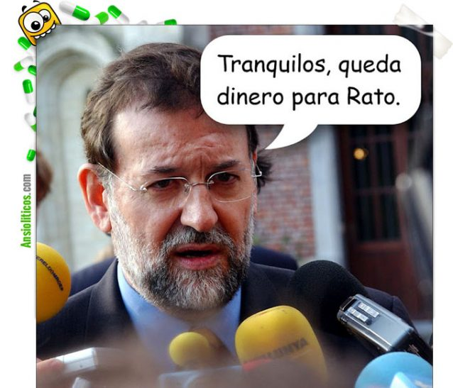 "Chiste Bankia: ""Nos queda dinero para Rato"""