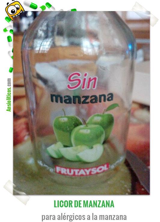 Chiste de bebidas: Licor sin manzana