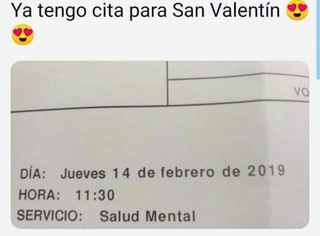 Cita para San Valentin
